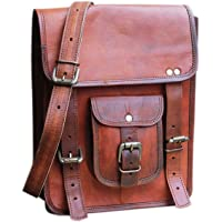 Piel SKH 27,94 cm la vendimia piel para hombre bolso bandolera de piel bandolera para iPad
