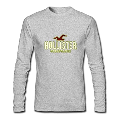 Hollister Logo For 2016 Mens Printed Long Sleeve tops t shirts ...