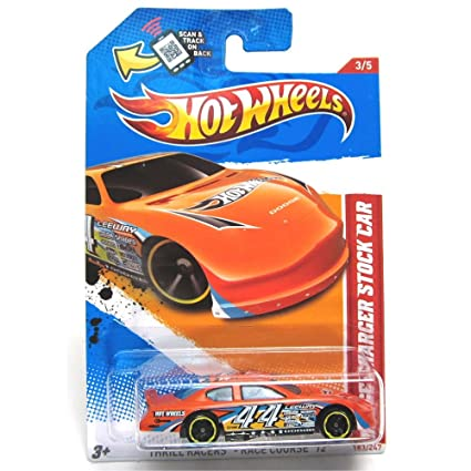 Amazon Com Hot Wheels Thrill Racers Race Course 2012 Dodge Charger