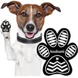 LOOBANI Dog Paw Protector Anti-Slip Grip Pad to Provides Traction and Brace for Weak Paws, Walk Assistant to Keeps Dogs from