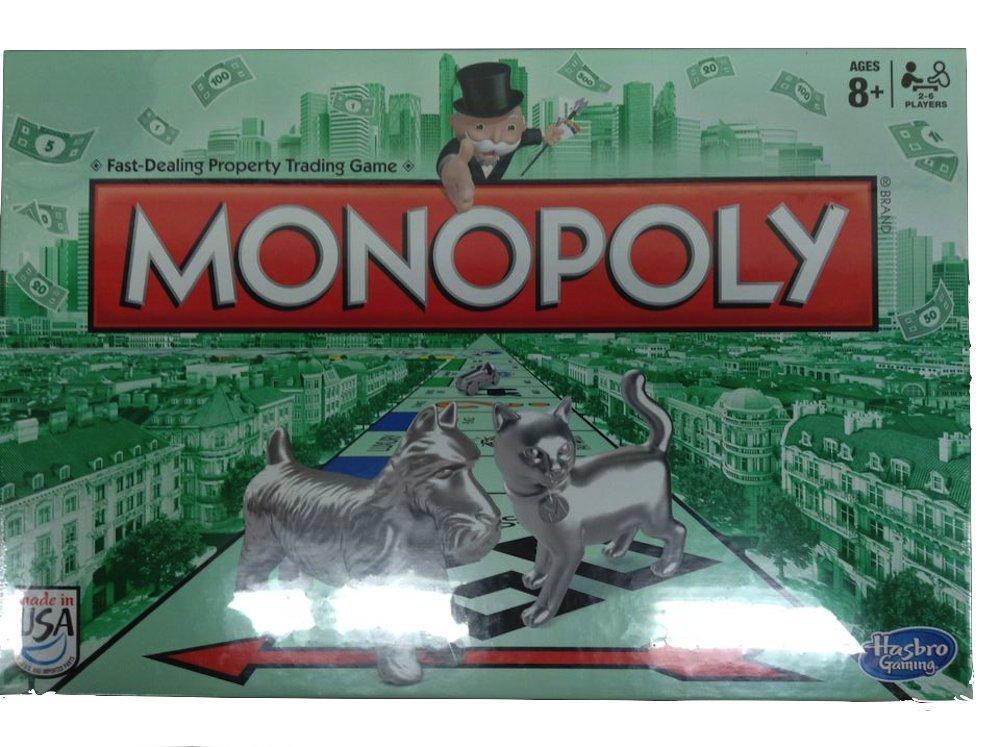 HASBRO MONOPOLY 10