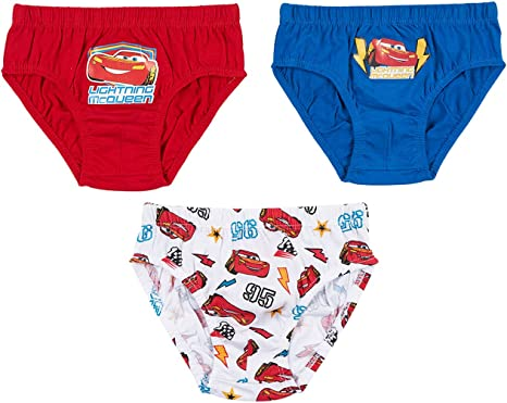 Disney Cars Pack of 3 Briefs//Pants//Underwear