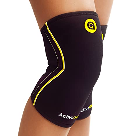 8c2bbfd7f2 ActiveGear Knee Brace Support Heavy Duty Neoprene Sport Compression Sleeve  (Small). Roll over image to zoom in