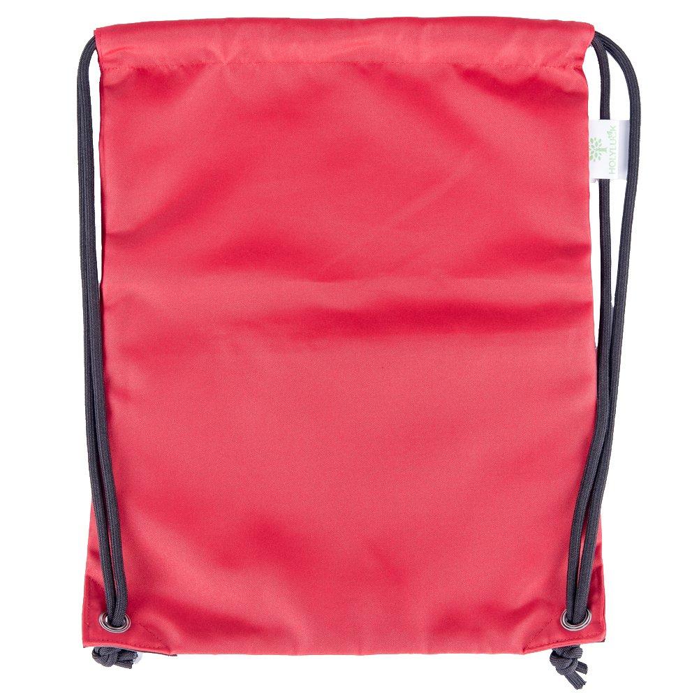 HOLYLUCK Men    Women Sport Gym Sack Drawstring Backpack Bag  (White ... 6d85de4085