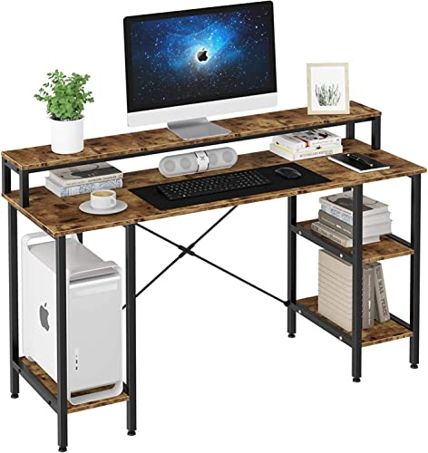 "oneinmil Industrial Computer Desk 55"""
