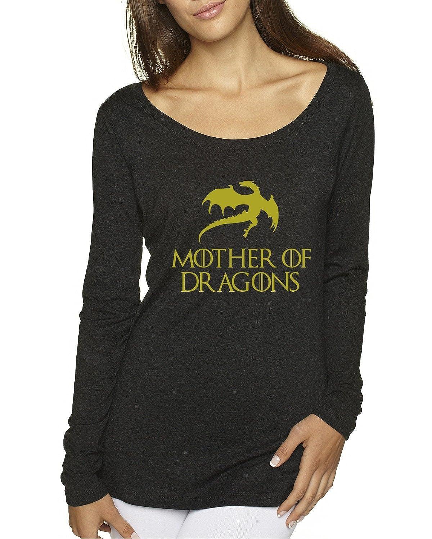 Mother Of Dragons GOT Women's Scoop Long Sleeve Top
