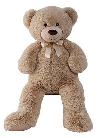 TeddybÄr Ca Baby 1 M Braun Plüschbär Kuschelbär Stoffbär Teddy Bär Plüschtier Plüsch