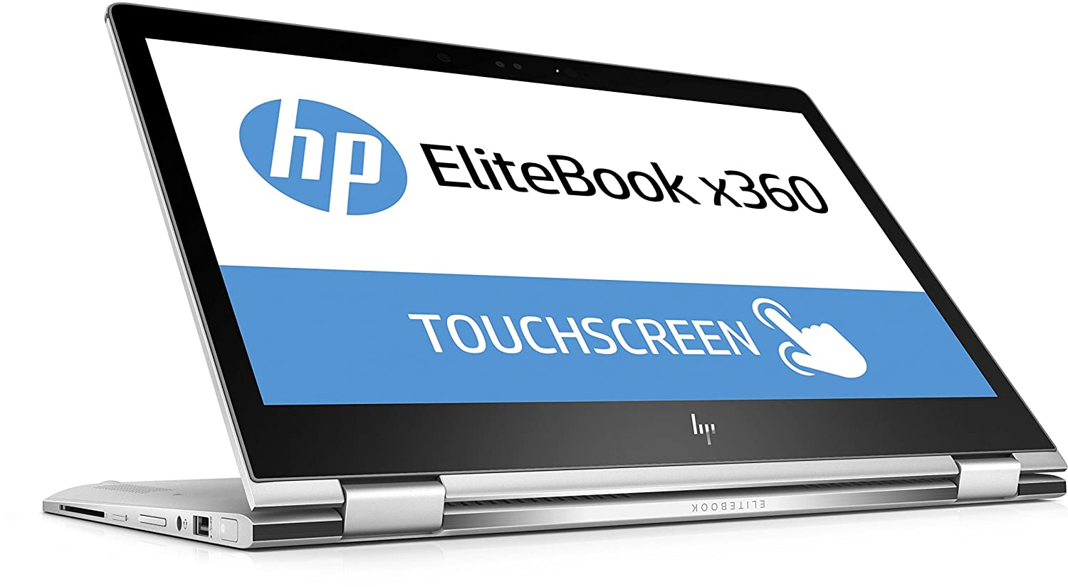 Ordenador portátil HP EliteBook x360 1030 G2 (13,3 Pulgadas FHD Pantalla táctil), Intel Core i7-7600U, 256 GB SSD, 8 GB de RAM, Windows 10 Pro, Color Plata: ...