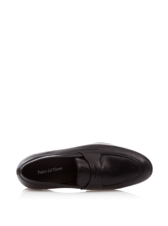 Pedro del Hierro Mocasines Antipaz Classic Piel Negro EU 40: Amazon.es: Zapatos y complementos