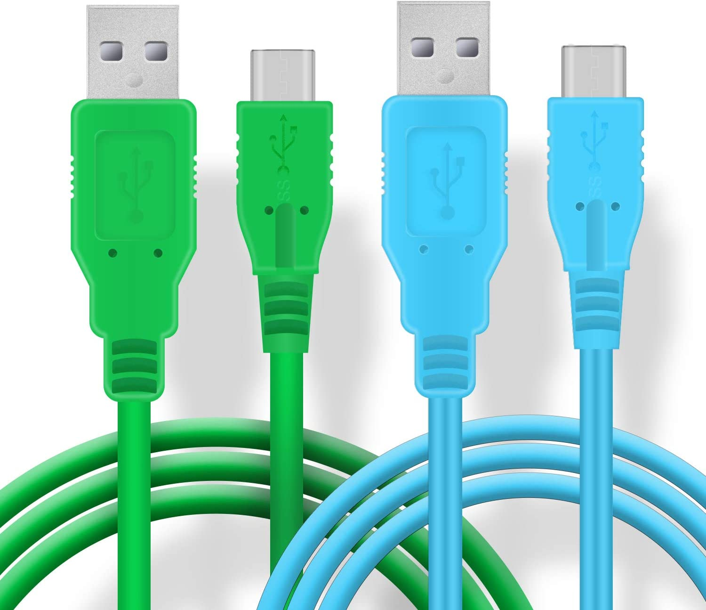 Cargador USB C para Nintendo Switch, cable de carga rápida USB tipo C para Nintendo Switch, MacBook, Pixel C, LG Nexus 5X G5, Nexus 6P/P9 Plus, One Plus 2, Sony XZ y