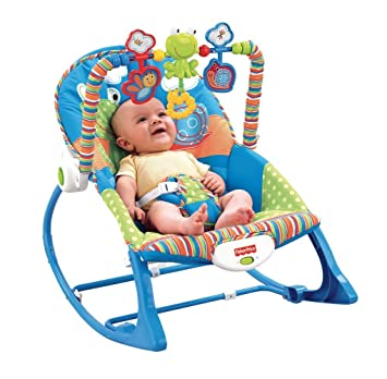 b3dc170e2 Fisher-Price Newborn   Infant to Toddler Little Frog 2 in 1 Portable ...