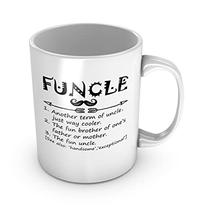 Amazon Funny Funcle Definition Ceramic Coffee Mug Perfect