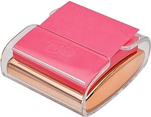 Dispensador de Post-it Pop-Up Nota (wd-330-bk), Rose gold