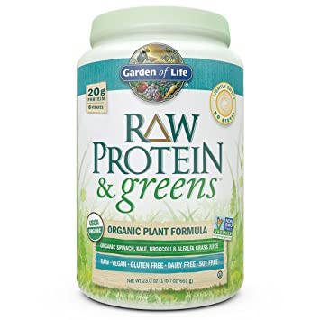 Amazon.com: Garden of Life Greens and Protein Powder - Organic Raw on