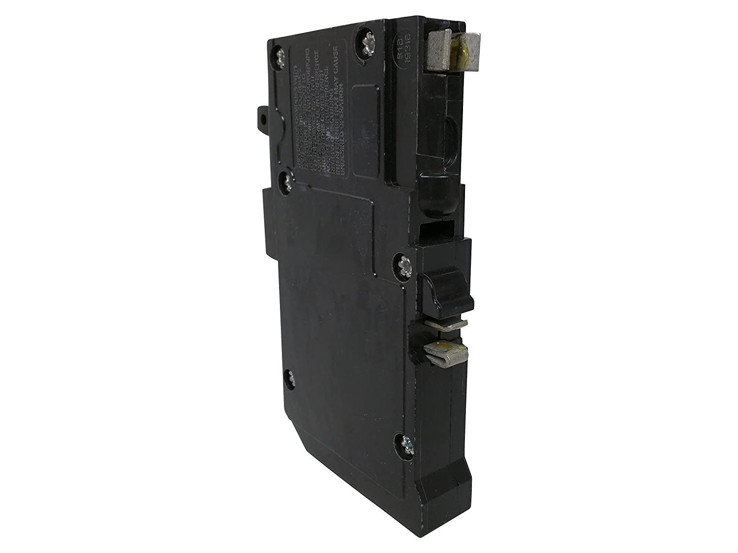 Square D by Schneider Electric QO Plug On Neutral 20 Amp Single Pole Dual Function CAFCI and GFCI Circuit Breaker