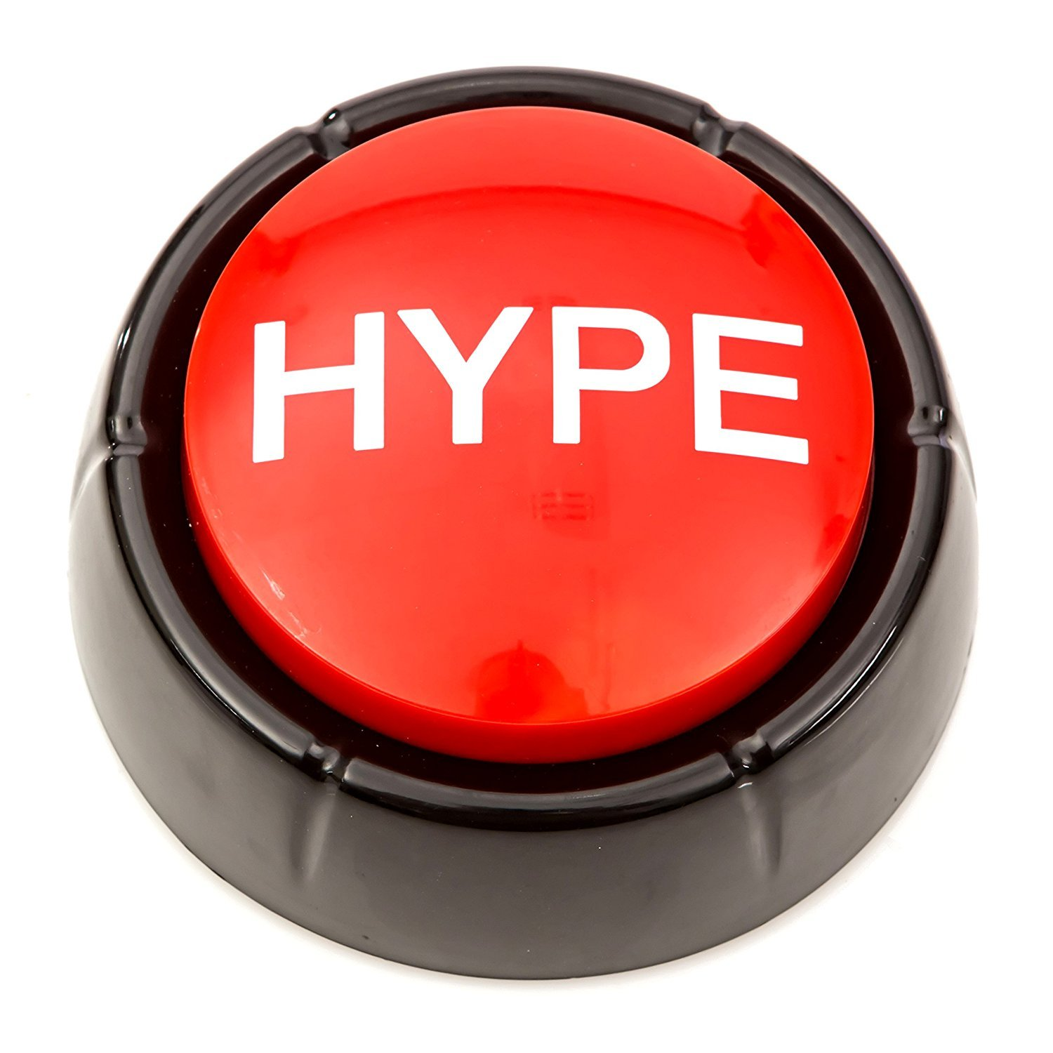 The Hype Button | Hip Hop Air Horn Sound Effect Button Batteries Included