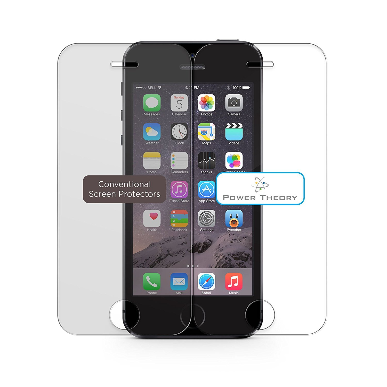 brotect 2-Pack Screen Protector compatible with Snooper S8110 Truckmate Pro HD-Clear Protection Film
