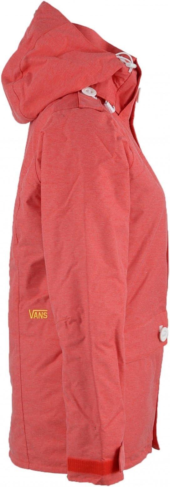 Vans – Giacca da Snowboard Eris Ins Jacket Women, Rosso