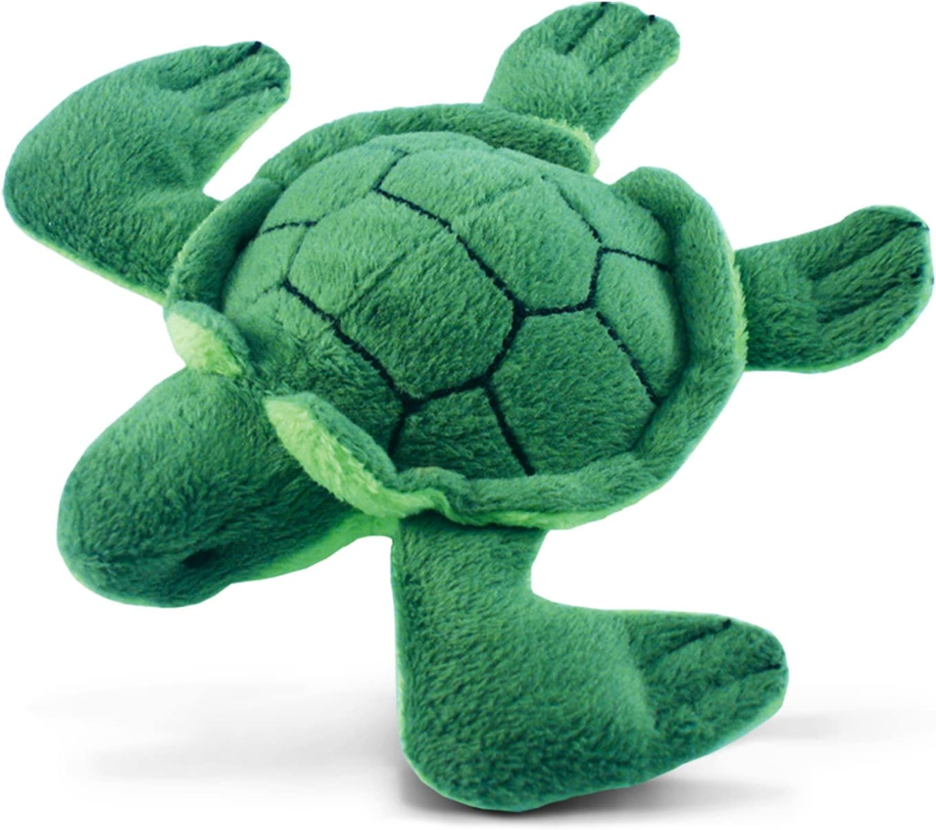 CoTa Global Sea Turtle Plush Refrigerator Magnet - Green Tortoise Stuffed Plush Magnet, Cute Ocean Life Magnet For Kitchen Fridge & Locker, Home Decor & Office Decorative Novelty Accessory - 4 Inch