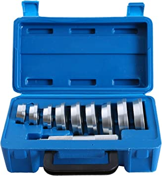 Thorstone 10pcs Bearing Race and Seal Bushing Driver Install-Remover Tool Set for Seal Press,Race Driver,Bearing Tool