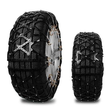 Cadenas de nieve mejoradas, Wrcibo, para neumático, cobertura completa, antideslizantes