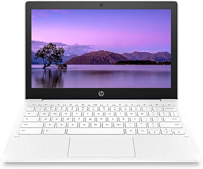 HP Chromebook 11-inch Laptop - Up to 15 Hour Battery Life - MediaTek - MT8183 - 4 GB RAM - 32 GB eMMC Storage - 11.6-inch HD Display - with Chrome OS - (11a-na0021nr, 2020 Model, Snow White) | Amazon