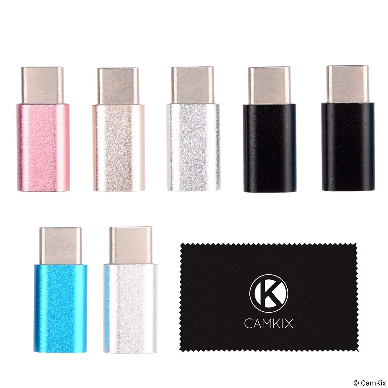 - Permet de Charger et de transf/érer des donn/ées Connectez Simplement Votre c/âble de Chargement//donn/ées Micro USB /à ladaptateur USB C Adaptateur Micro USB vers USB C Pack de 7