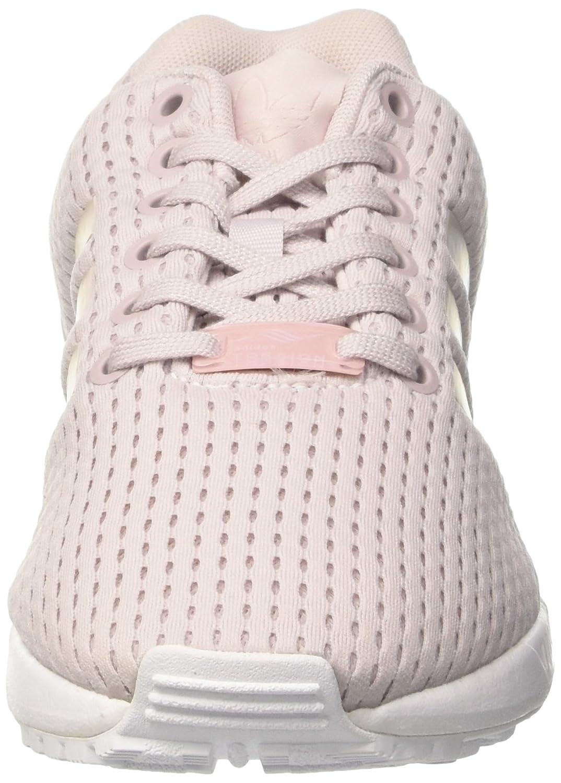 adidas ZX Flux, Sneakers Basses Femme Violet (Ice Purple/Ice Purple/Footwear White)