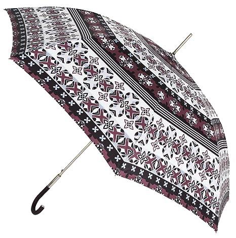 El Original Estampado de Este Paraguas VOGUE Largo de Mujer es Exclusivo de la Marca. El Paraguas Cuenta con Apertura automática, es antiviento y Acabado ...