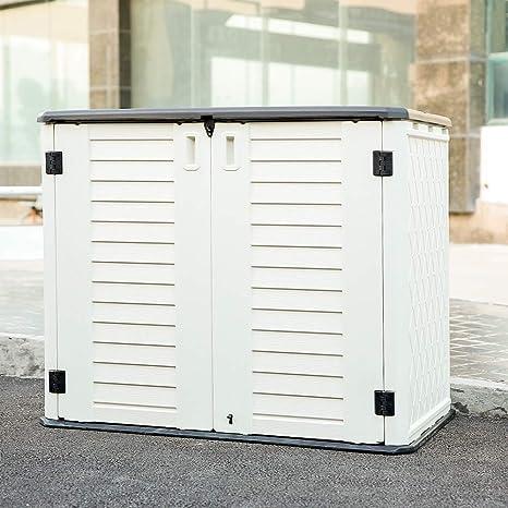 Amazon.com: KINYING Cobertizo de almacenamiento horizontal ...