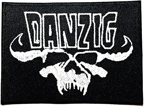 Danzig calavera Punk Rock Heavy Metal Música Logo parche sew Iron ...