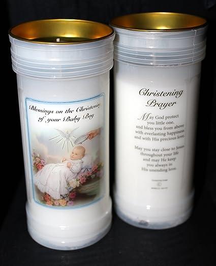 Rosario de caja bautizo y libros para recién nacido: Amazon.es: Hogar