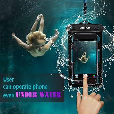 Asiproper Leehur universel Housse étanche Dry Bag + Brassard pour téléphone intelligent