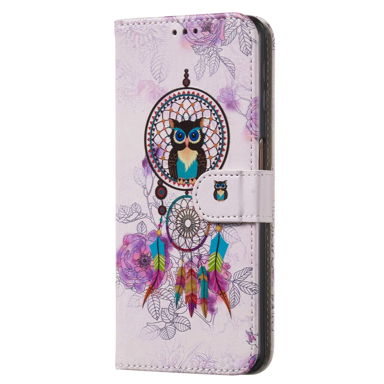 2018 Lomogo Cover Samsung Galaxy A7 2018 // A750 Custodia Portafoglio in Pelle Porta Carta di Credito con Chiusura Magnetica per Samsung Galaxy A7 - LOYHU010029#9