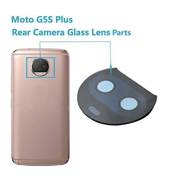 reputable site bafed 1e71f Amazon.com: Alovexiong Back Rear Camera Genuine Glass Lens Cover ...