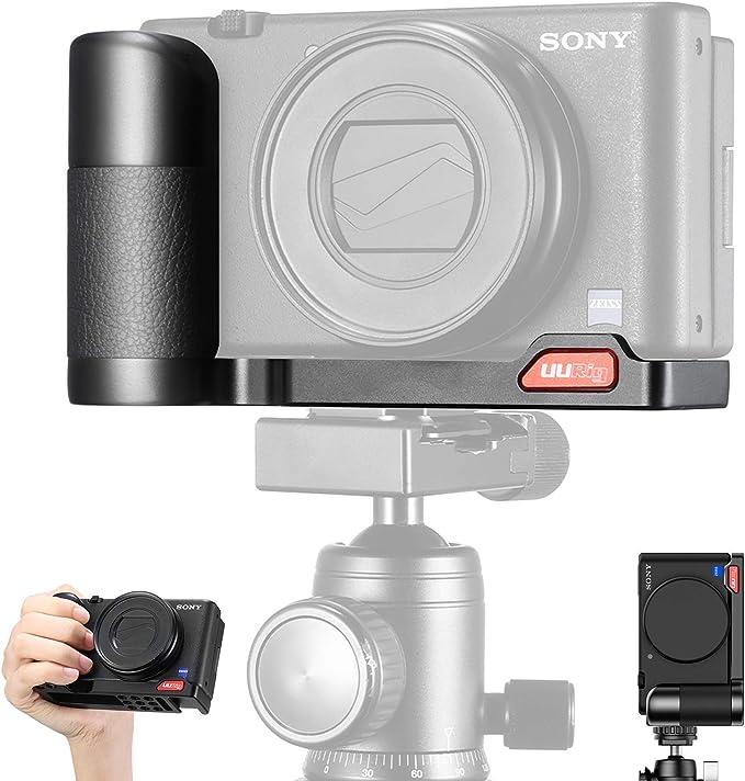Pro Video Stabilizing Handle Grip for Sony Cyber-Shot DSC-D700 Vertical Shoe Mount Stabilizer Handle