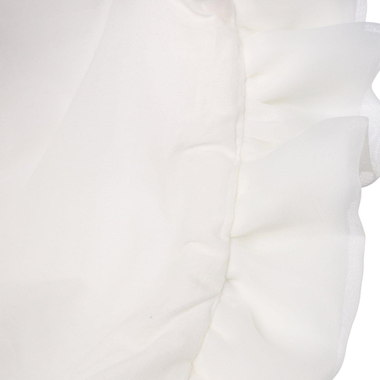 Hanakimi Flower Royal Christening Bonnet Handmade White KM045