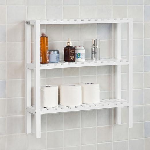 SoBuy®- Estanterías de baño, Estantería rinconera para la Cocina ...