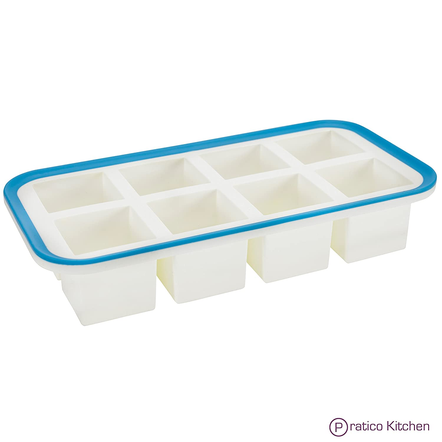 Pratico Kitchen 2 Silicone Ice Cube Trays Review