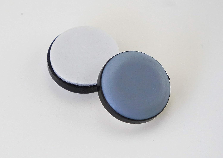 Lot de 16/patins pour meubles rond autocollant T/éflon /Ø 22/mm/ /5/mm d/épaisseur//Rev/êtement PTFE//teflongleiter//Meubles patins//chaise