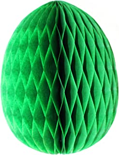 product image for 3-Pack 9 Inch Honeycomb Tissue Paper Easter Egg Decoration (Light Green)