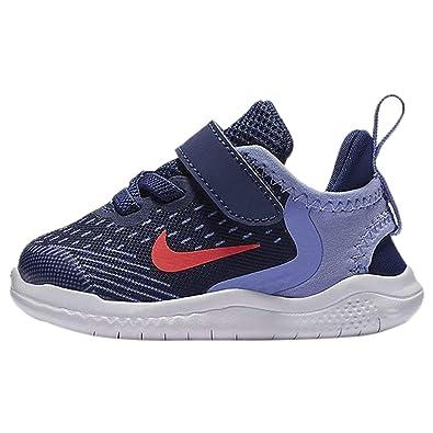 a1abe8d60f Amazon.com | Nike Kids Girl's Free RN 2018 (Little Kid) | Sneakers