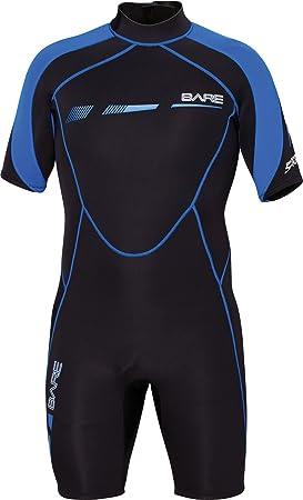 Bare Sport S de Flex 2 mm, corto Traje de neopreno, azul ...