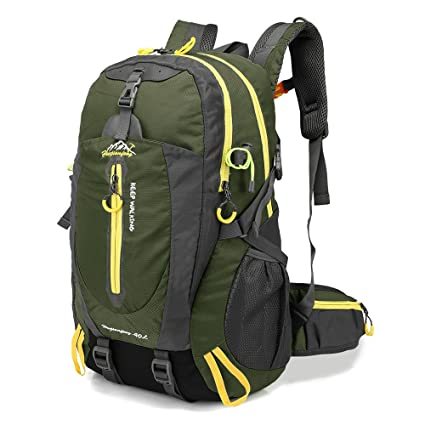 0476ea48fc Docooler 40L Water Resistant Travel Backpack Camp Hike Laptop Daypack  Trekking Climb Back Bags for Men Women  Amazon.in  Sports