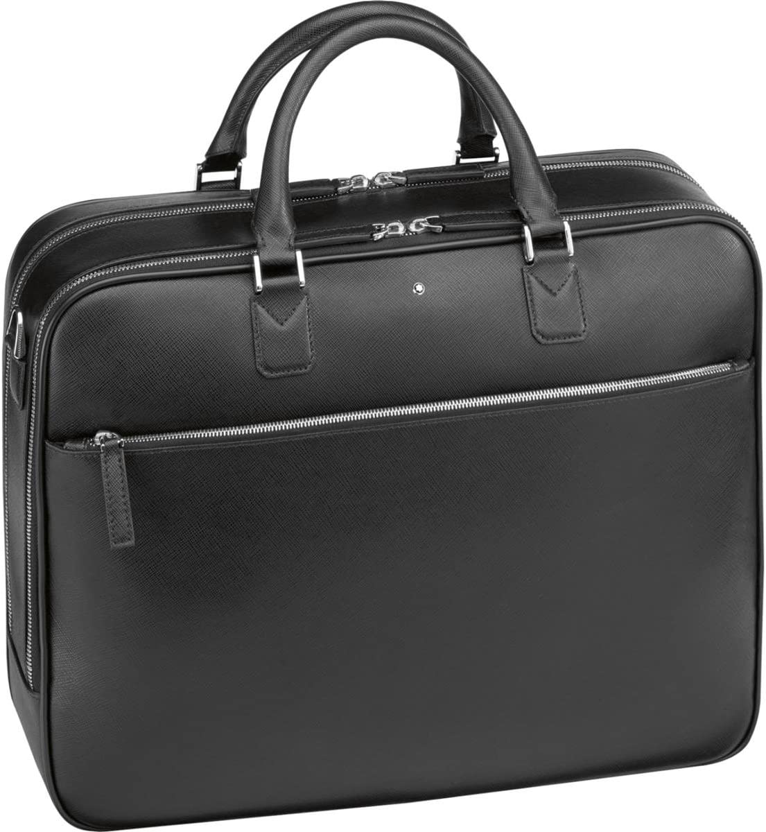 Montblanc Messenger Bag, Black Schwarz , 41 centimeters