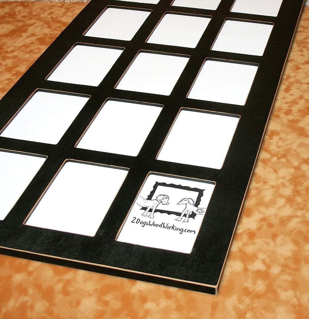 School years picture frame 15 opening frame large wallets first year frames pre k through 12 Collage frame with 15 openings