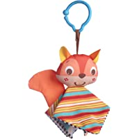 Tiny Love Clip on Toy, Crinkly Squirrel