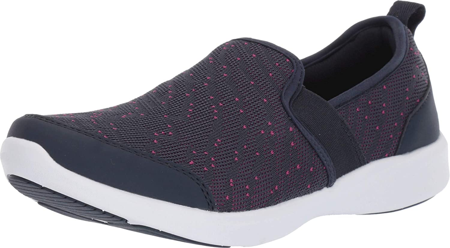 Vionic Women's Sky Roza Slip-on Sneakers - Ladies Walking Shoes with Concealed Orthotic Arch Support