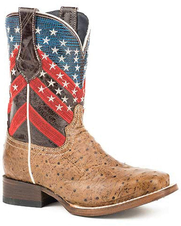 ROPER Girls Amber Waves Western Boot Square Toe