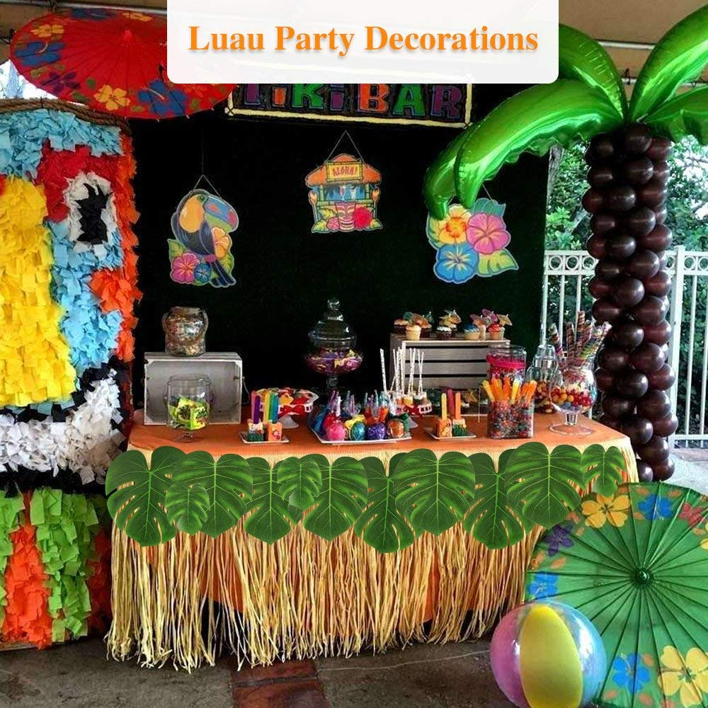 Buy Momotoys 60pcs Palm Leaves Tropical Party Decorations